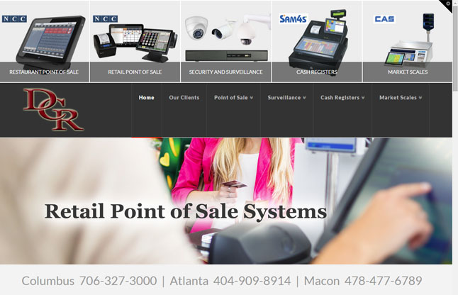 DCR Point of Sale and Surveillance Systems